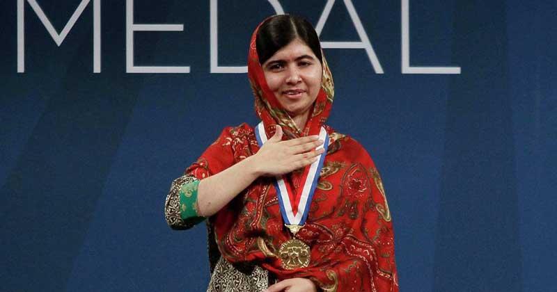 malala got awarded