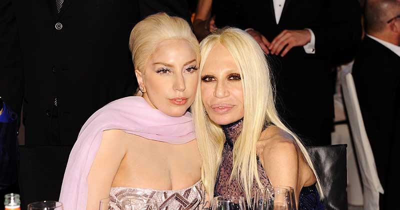 donatella versace and lady versace