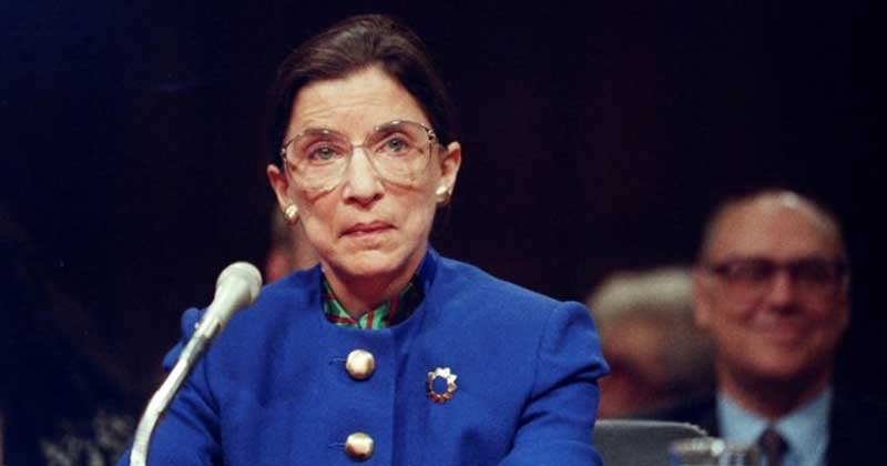 Ruth bader ginsburg Supreme court justice
