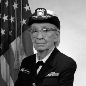 What did grace hopper invent? and What was her role in World War II